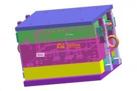 細水口模又稱三板式模,其主要特点是在取出制品的同時