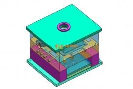 考虑模具各部分的强度,计算成型零件工作尺寸