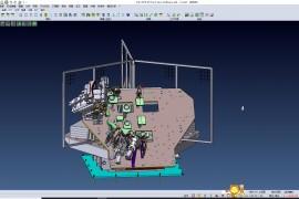 汽车引擎盖机器人自动焊接工作站(焊接夹具+转台系统)